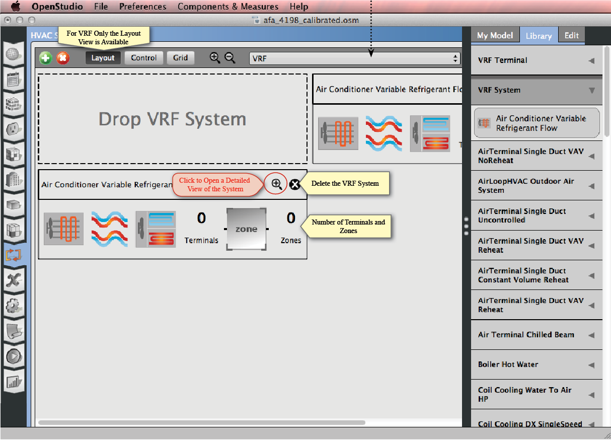 Creating Your Model Openstudiosup Sup User Docs Tags Analyzing Electric Circuits Electrcal Software How To Labview Vrf Layout