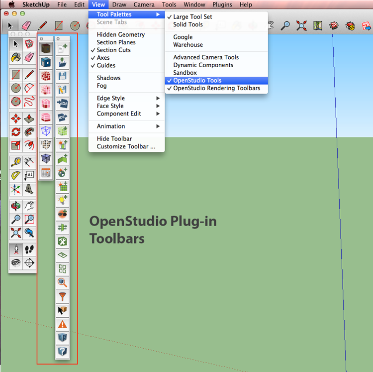 SketchUp Plug-in Interface Guide - OpenStudio<sup>®</sup> User Docs